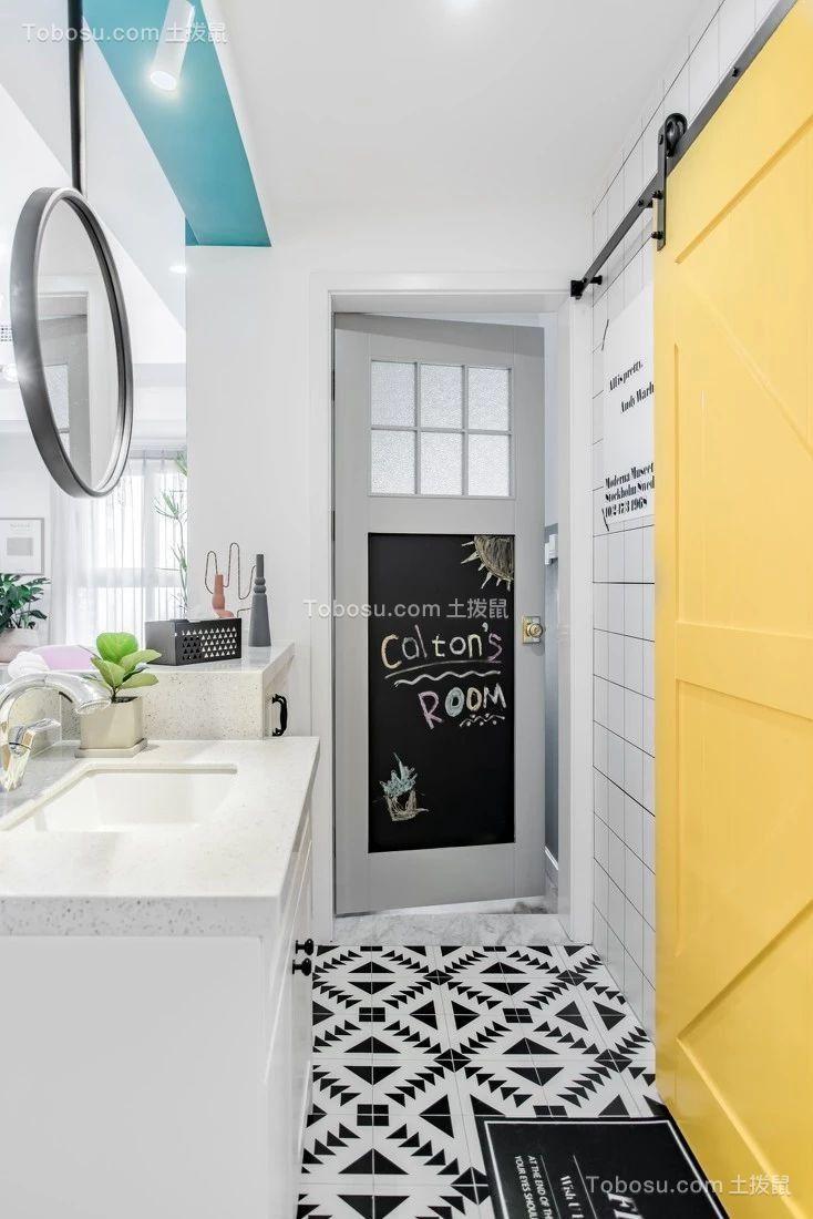 2019北欧卫生间装修图片 2019北欧浴室柜装修图片