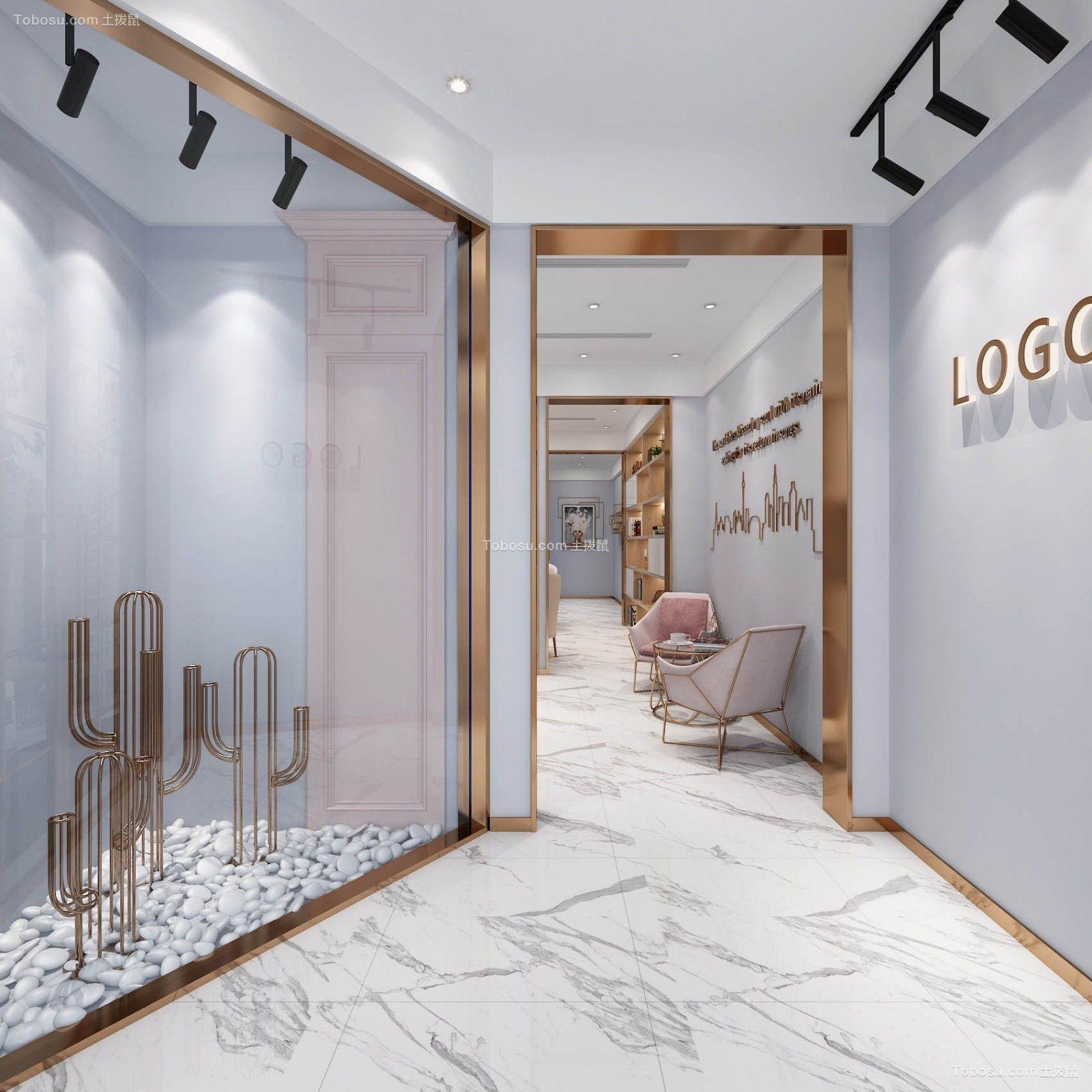 现代风格美容院走廊