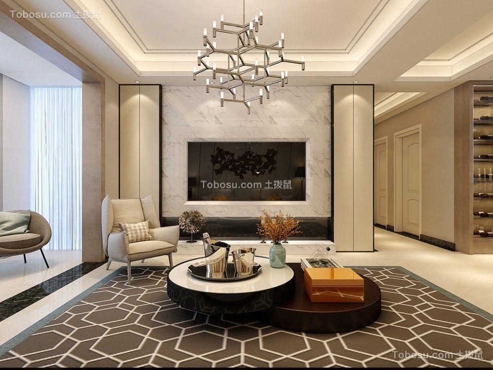 2019简单客厅装修设计 2019简单电视背景墙装修设计图片