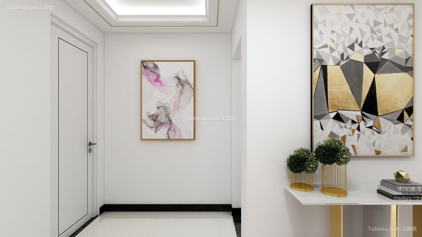 125平三室两厅两卫轻奢风格装修效果图