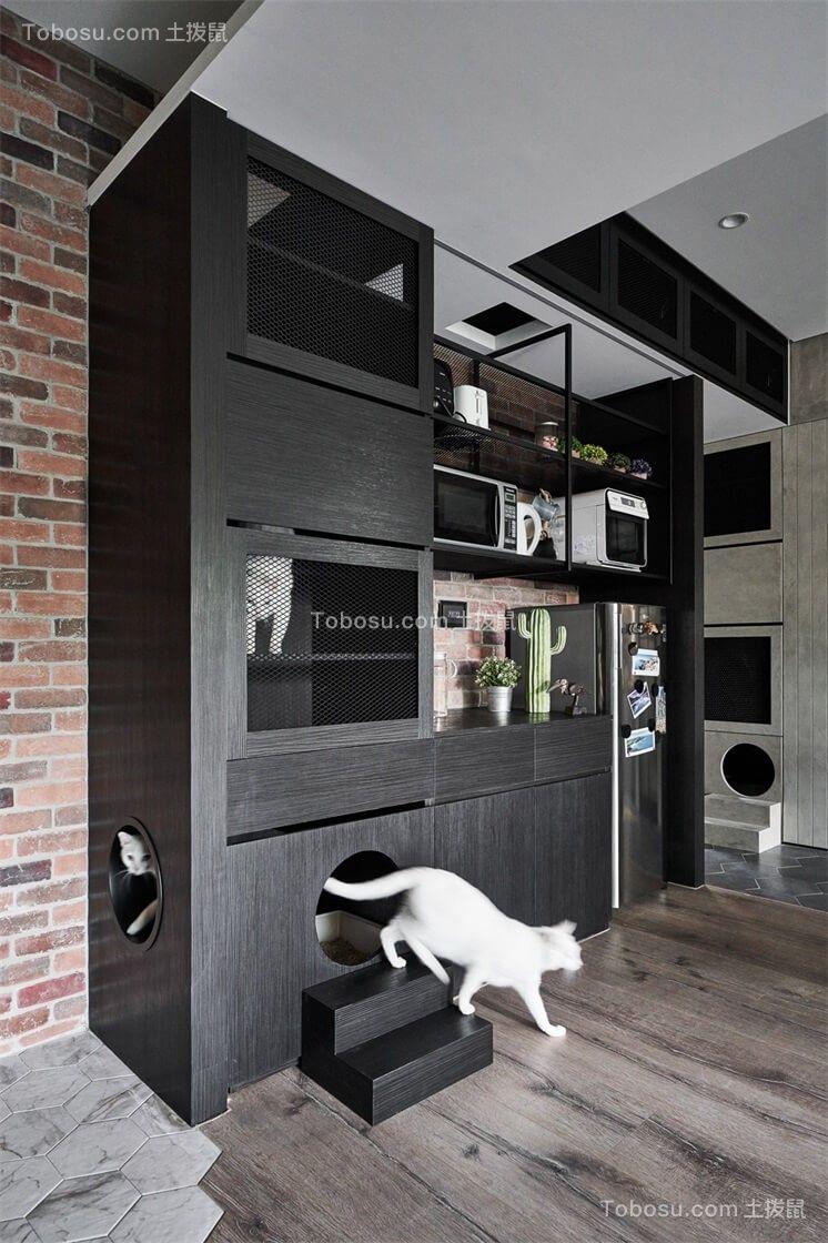 2019中式客厅装修设计 2019中式博古架装修图片