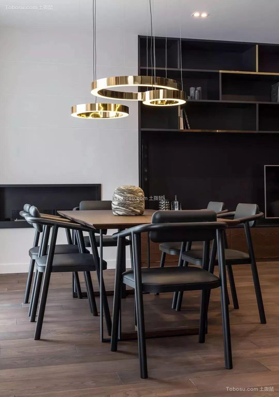 暗黑色住宅空间 透出舒适感的小众色彩