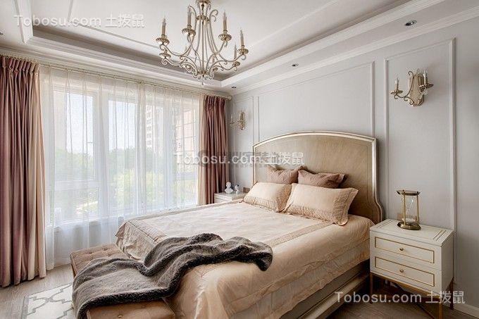2019法式卧室装修设计图片 2019法式床图片