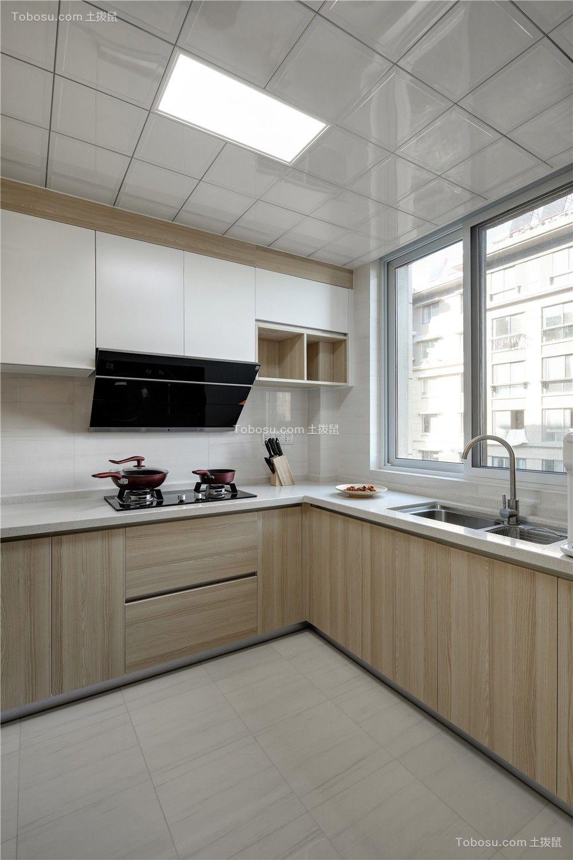 简约风格一百平三居套房厨房装修效果图