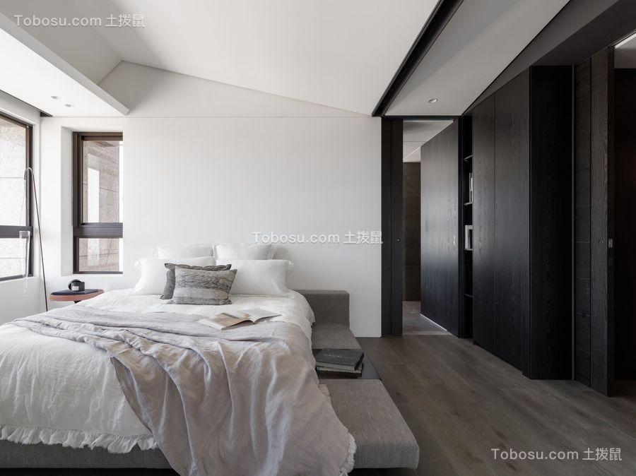 200平米黑白灰质感设计