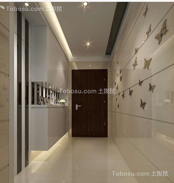 100平现代风格公寓装修样板间