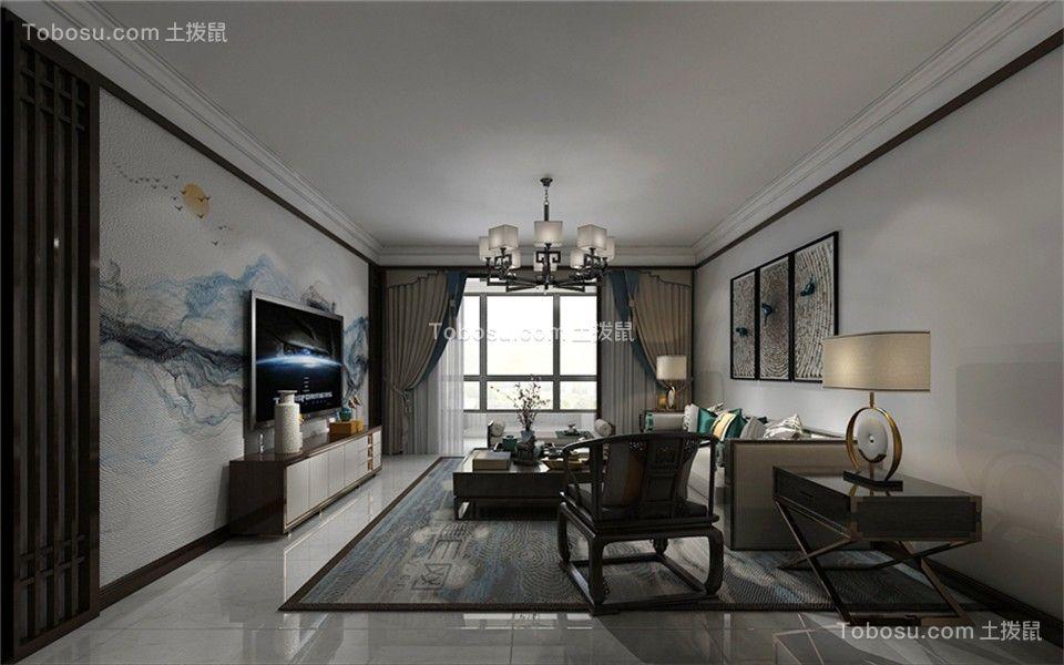 200平别墅现代风格客厅装修效果图
