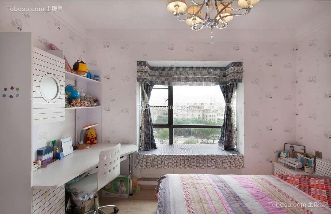 海伦国际138平现代简约大户型卧室效果图