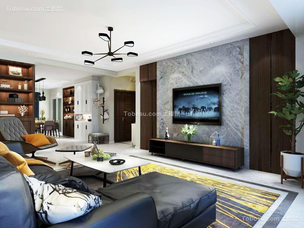 金景苑白色四室简约风格装修效果图
