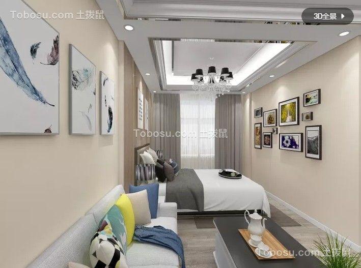 106平简欧风格套房设计效果图