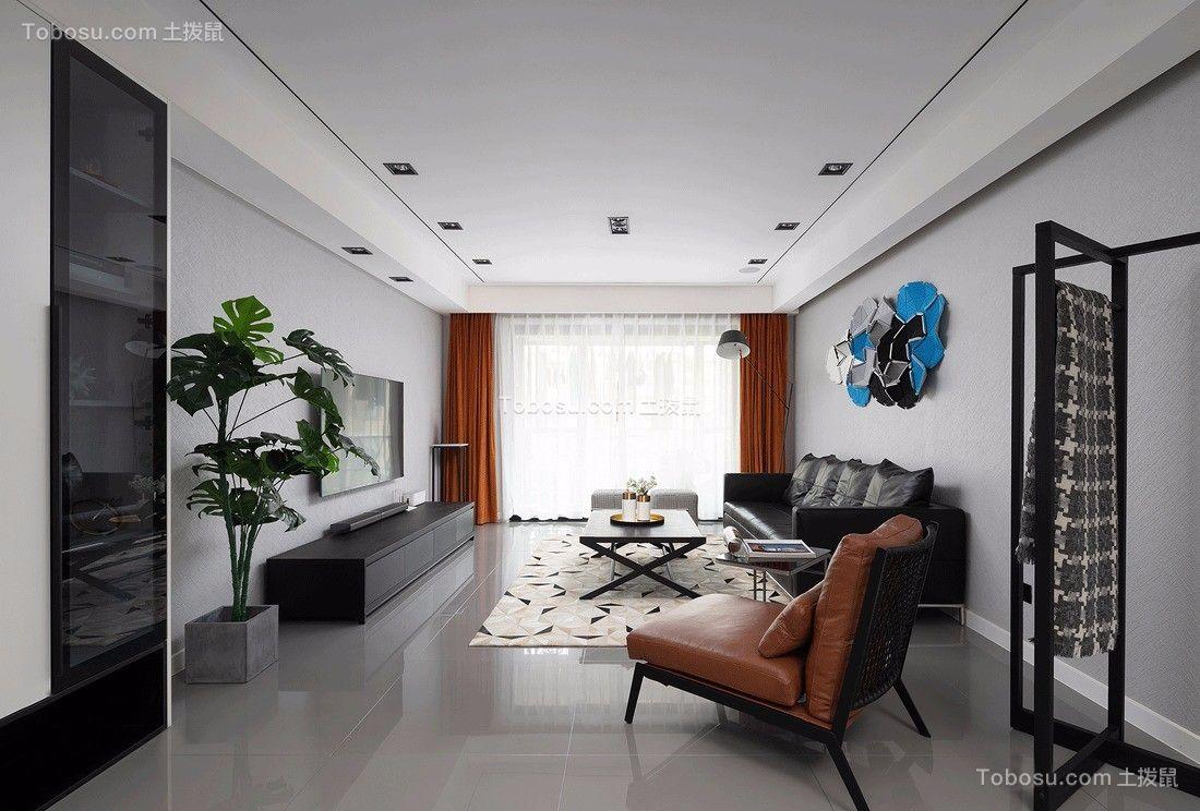 146平米极简现代简约风四居室案例欣赏