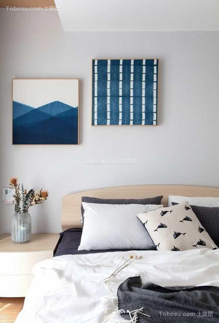 2019日式卧室装修设计图片 2019日式照片墙装修图