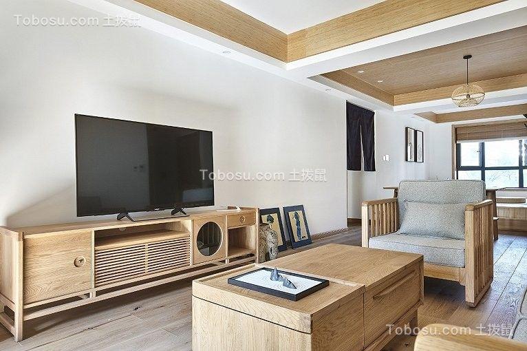 2019法式客厅装修设计 2019法式电视柜装修效果图片