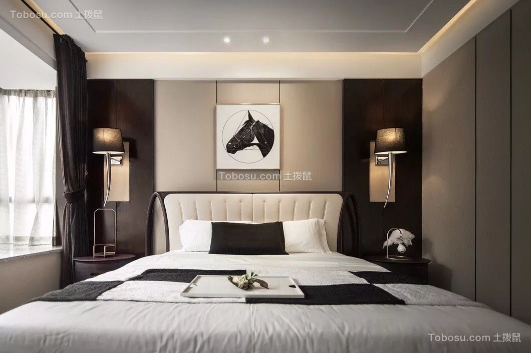 2019简约卧室装修设计图片 2019简约背景墙装饰设计