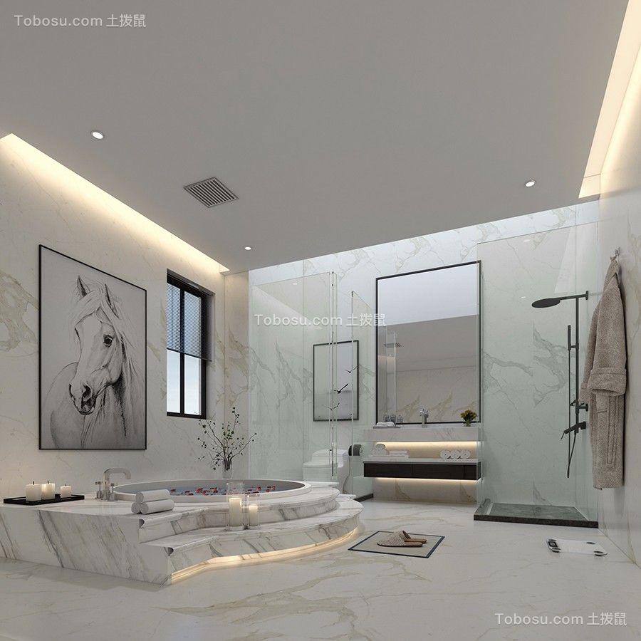 2019现代简约浴室设计图片 2019现代简约细节图片