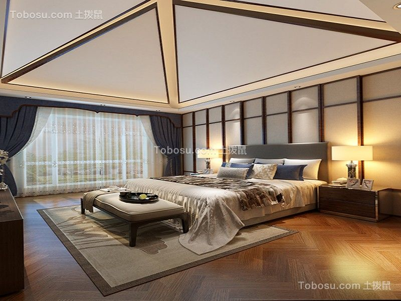 2019新中式阳光房设计图片 2019新中式门厅装修效果图片
