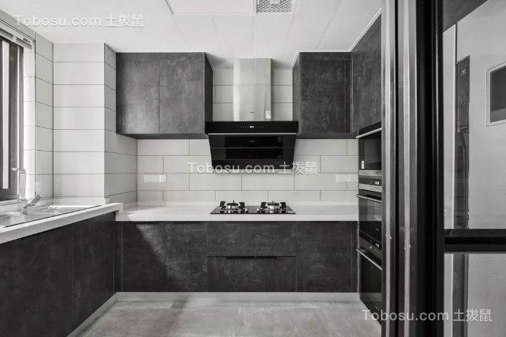 135平米现代主义3室2厅,时尚与睿智的黑白格调