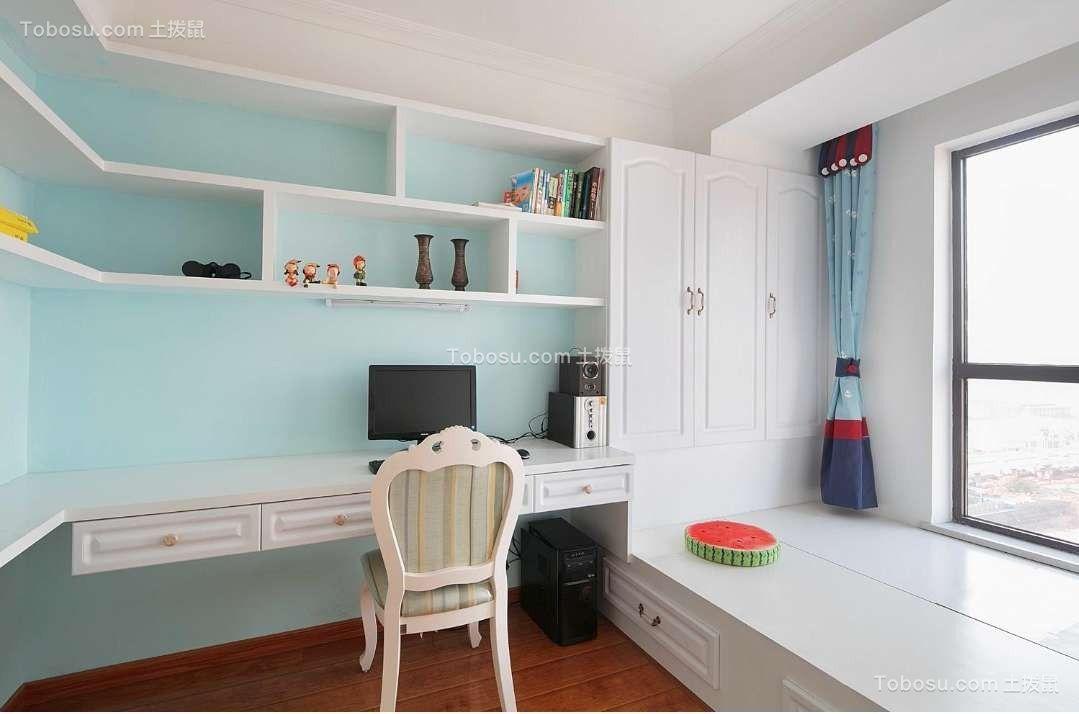 银杏人家105平米欧式风格三居室效果图