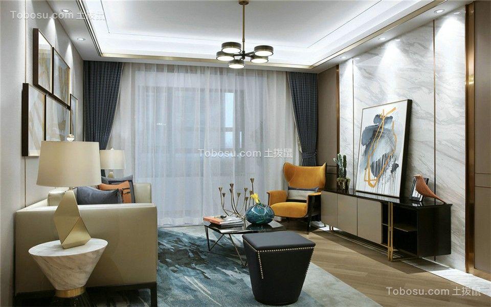 高速时代城120平3室现代简约效果图