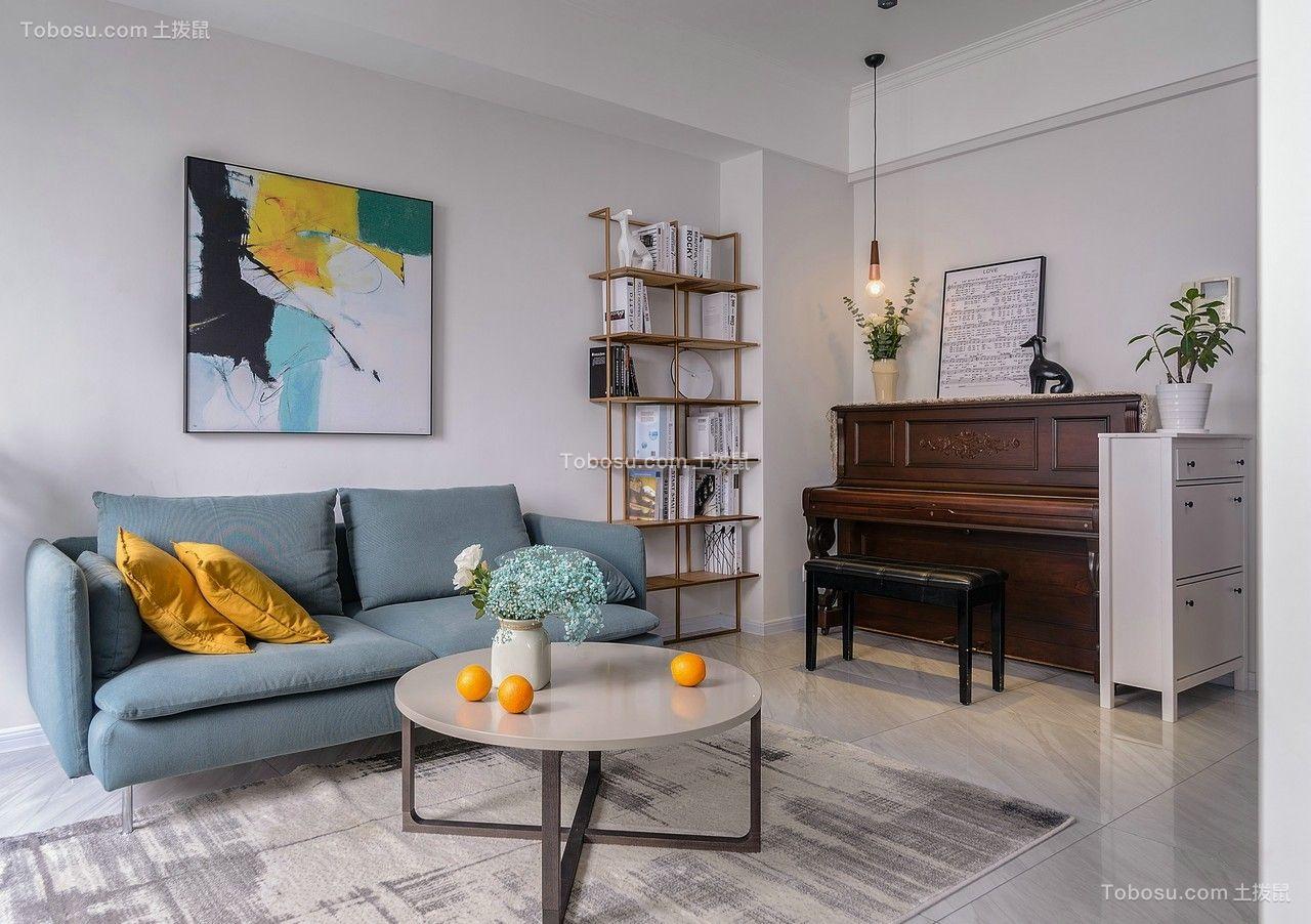 85平方米北欧风格一居室装修效果图