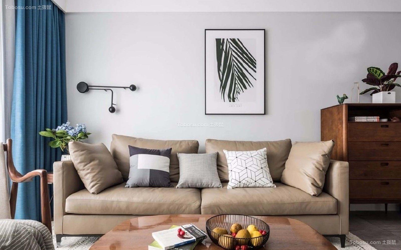 2019北欧起居室装修设计 2019北欧沙发设计图片