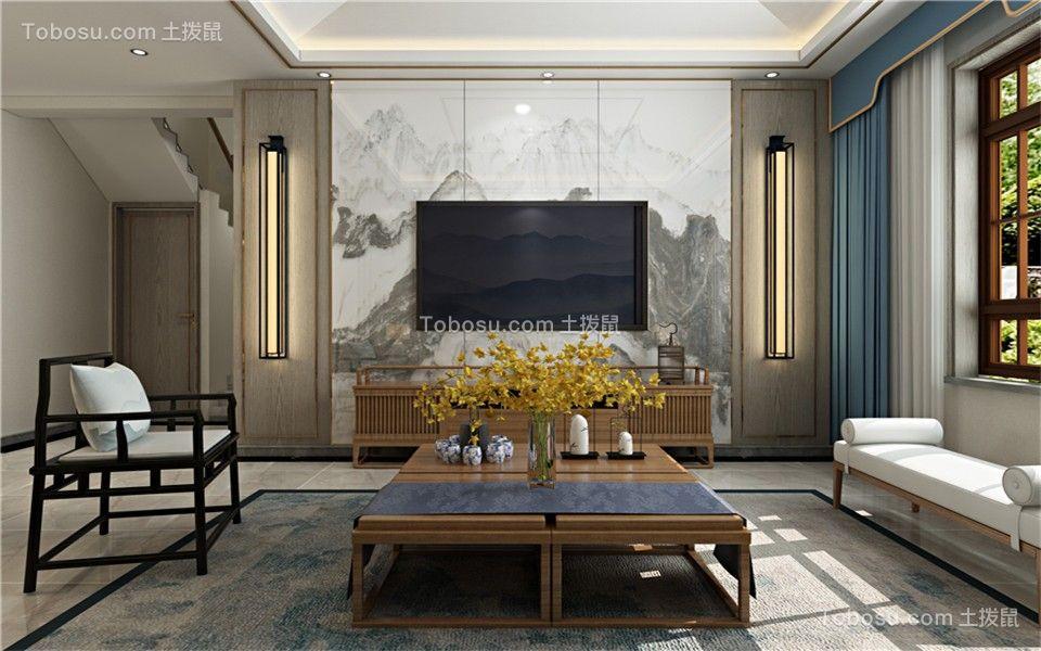 260平米别墅中式风格装修效果图
