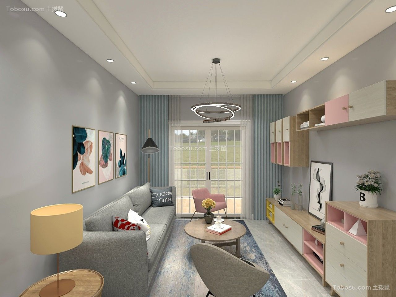 2019简单客厅装修设计 2019简单沙发装修设计