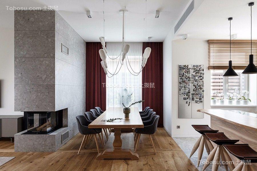 2019现代简约厨房装修图 2019现代简约地板砖装修设计图片