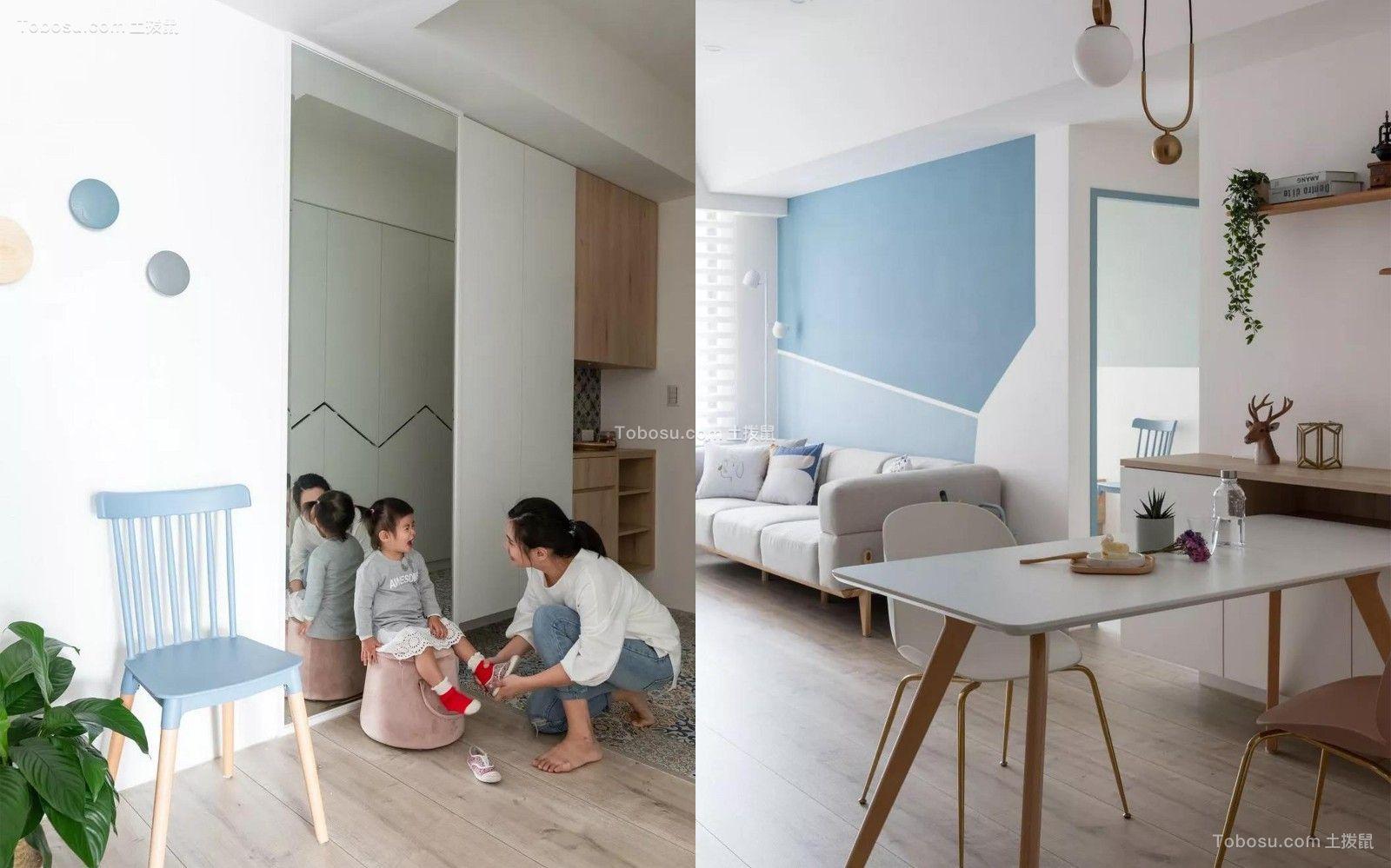 2019现代起居室装修设计 2019现代地板效果图