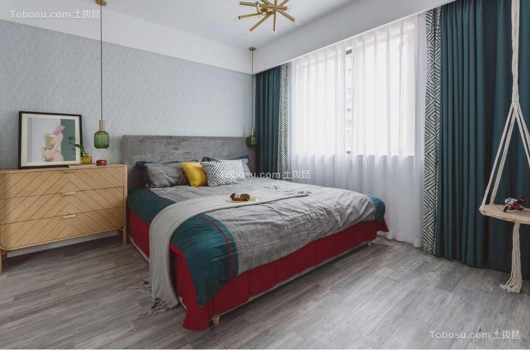 渔阳佳园102现代简约二居室装修效果图