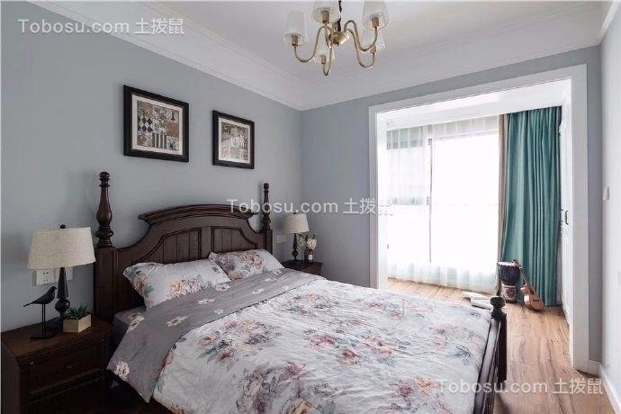 2019美式卧室装修设计图片 2019美式照片墙装修图