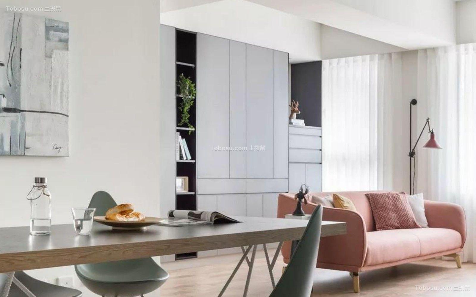 2019现代起居室装修设计 2019现代书架装修设计图片