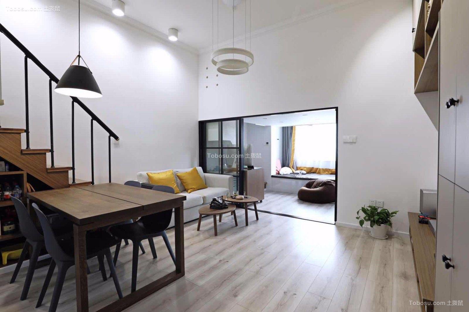 2019现代客厅装修设计 2019现代阁楼装修图