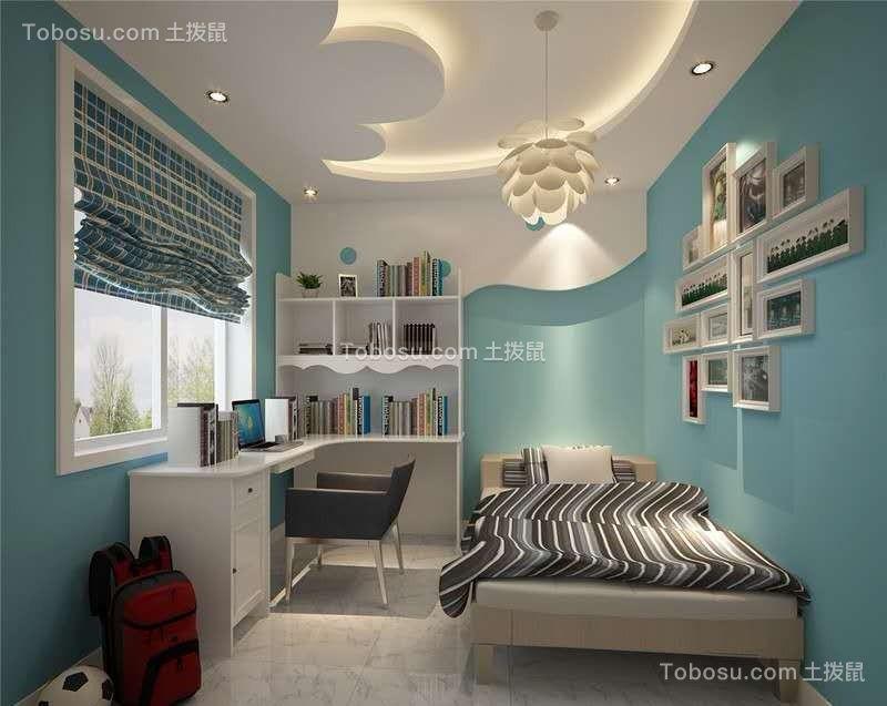 2020现代儿童房装饰设计 2020现代吊顶装修效果图片
