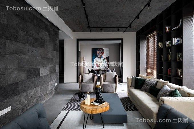 重庆喜马拉雅218平4房现代风格装修案例