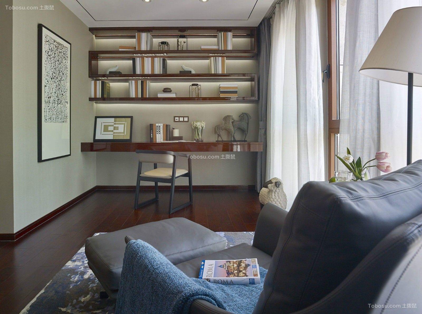 2020混搭书房装修设计 2020混搭地板装修图