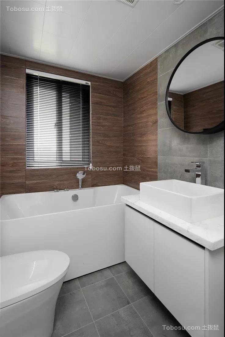 2020现代简约卫生间装修图片 2020现代简约地板砖设计图片