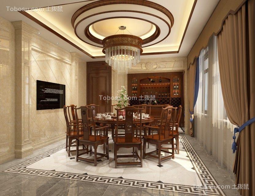 杭州湾自建房500平新中式别墅部分效果