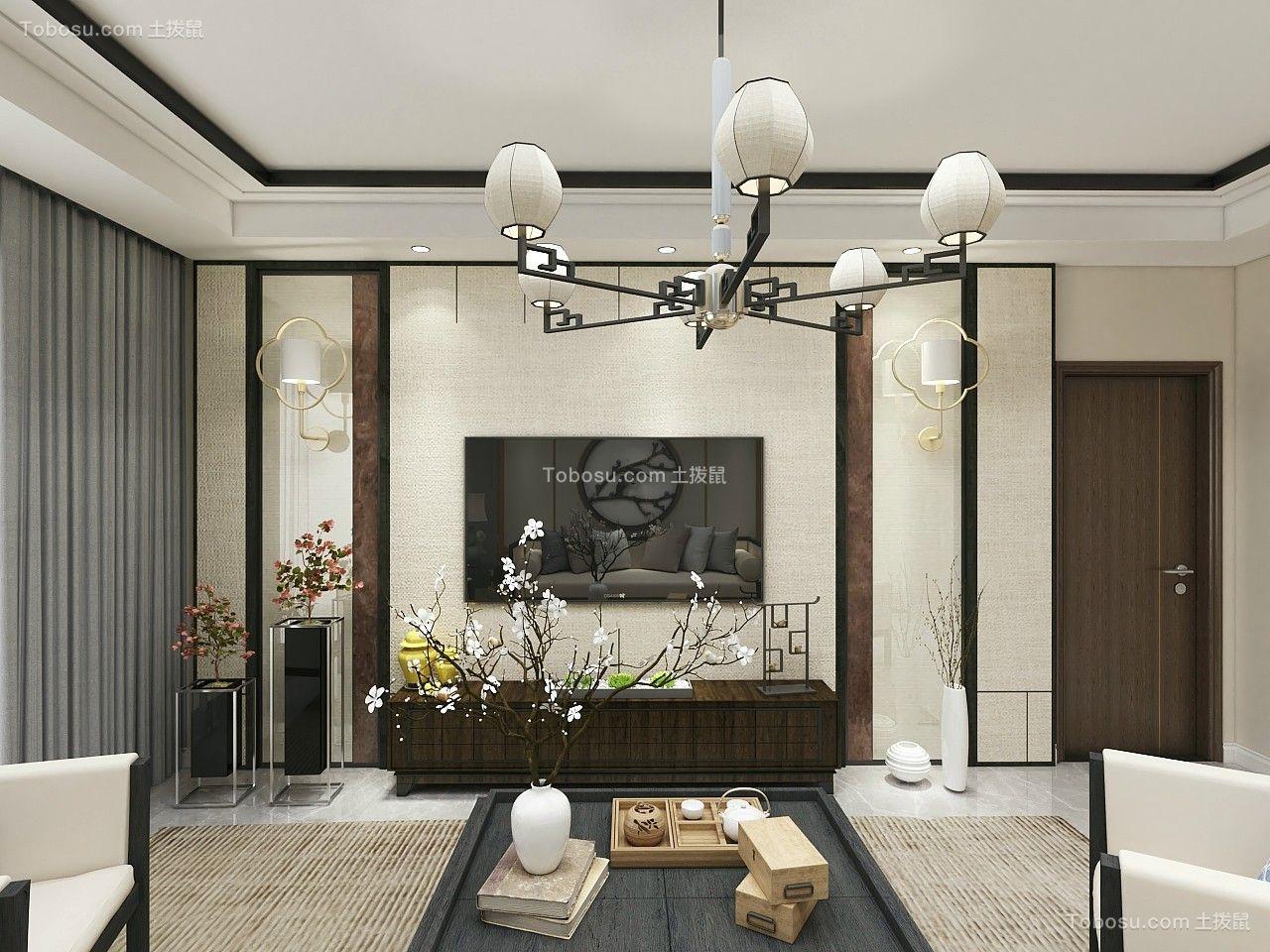 152平米新中式风格造价14万案例欣赏