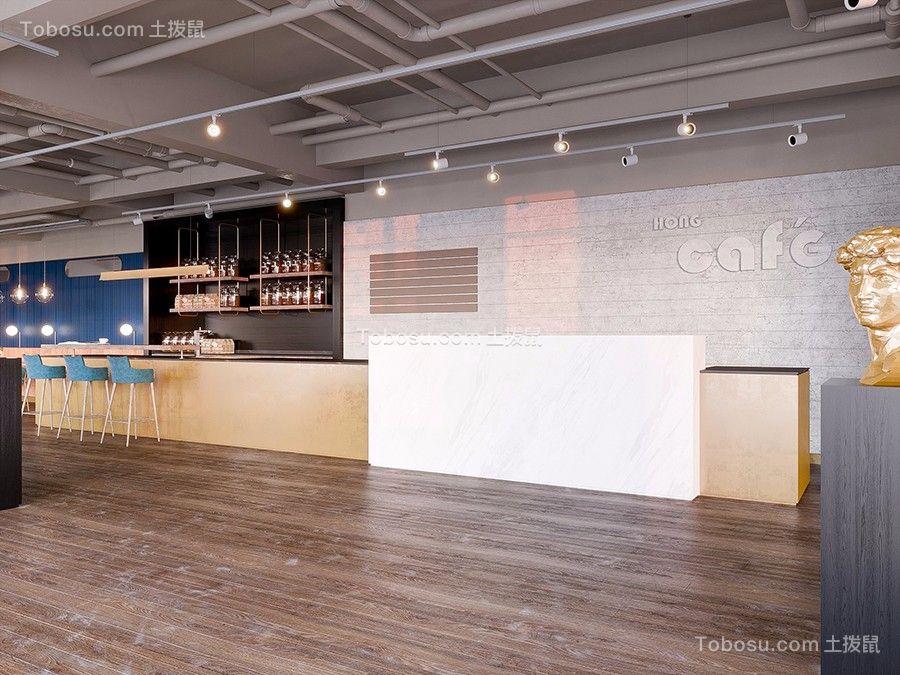 450㎡咖啡廳裝修效果圖