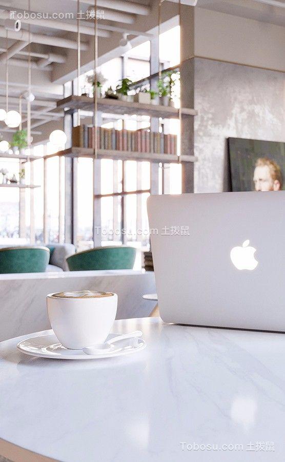 咖啡厅室内咖啡桌图片