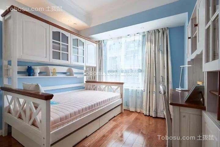 2019美式儿童房装饰设计 2019美式床效果图