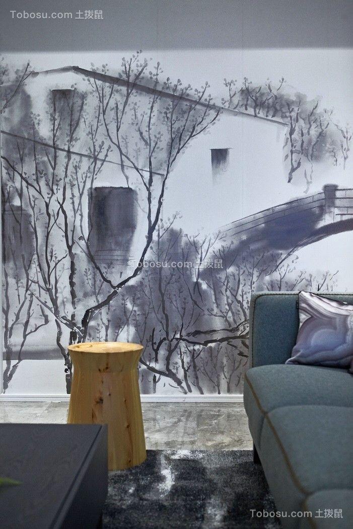 2019后现代客厅装修设计 2019后现代背景墙图片