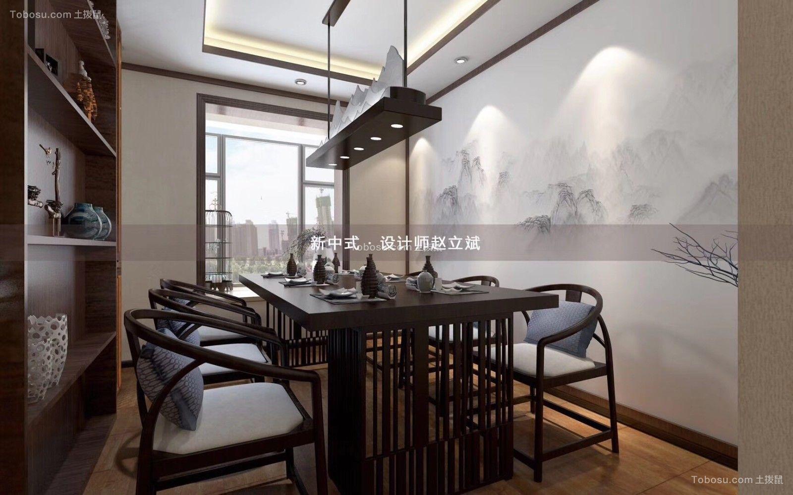 2019新中式餐厅效果图 2019新中式细节装饰设计