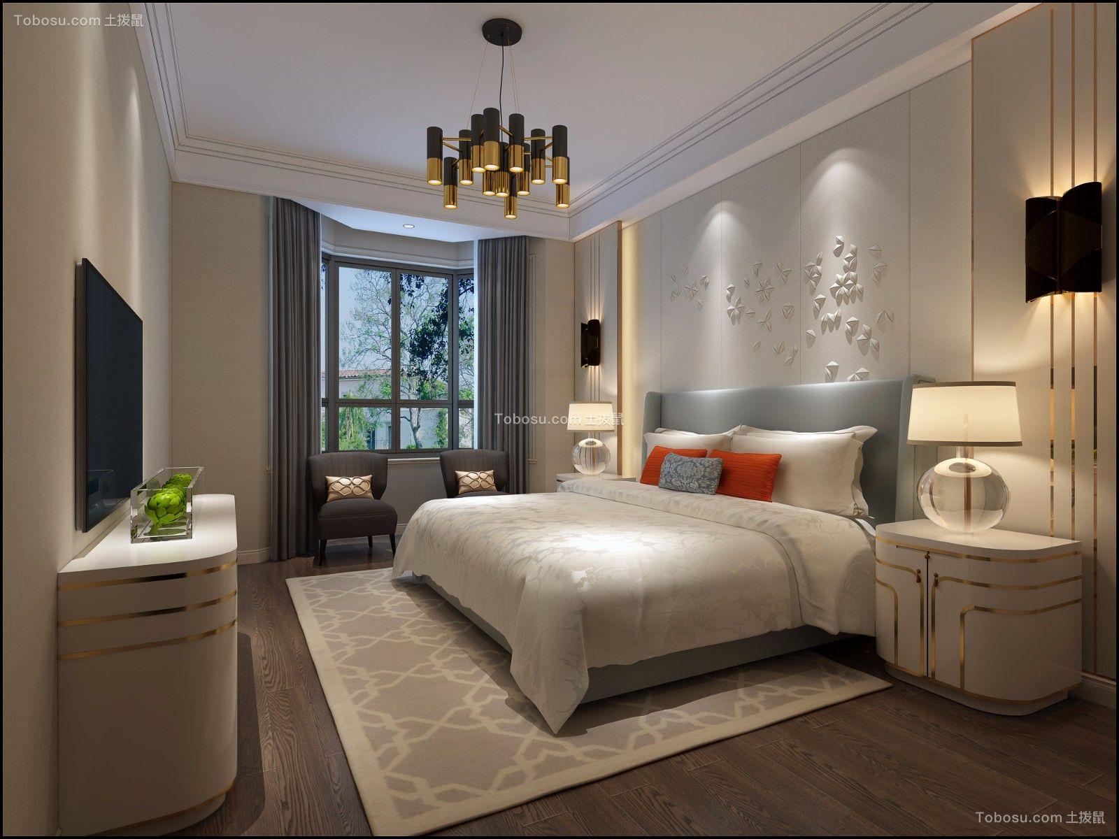 复式别墅300平米现代风格设计效果图