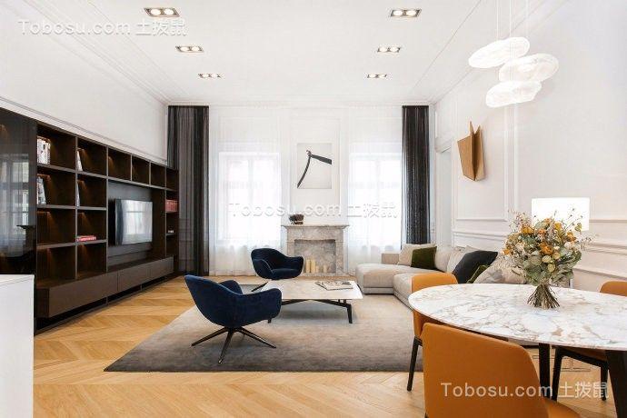 中冶圣乔维斯80平现代简约风格样板房