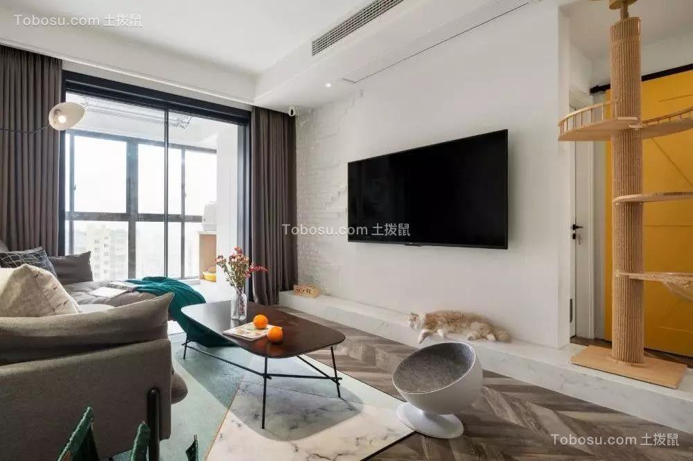 78平米北欧现代2室2厅,温馨又有格调的理想家