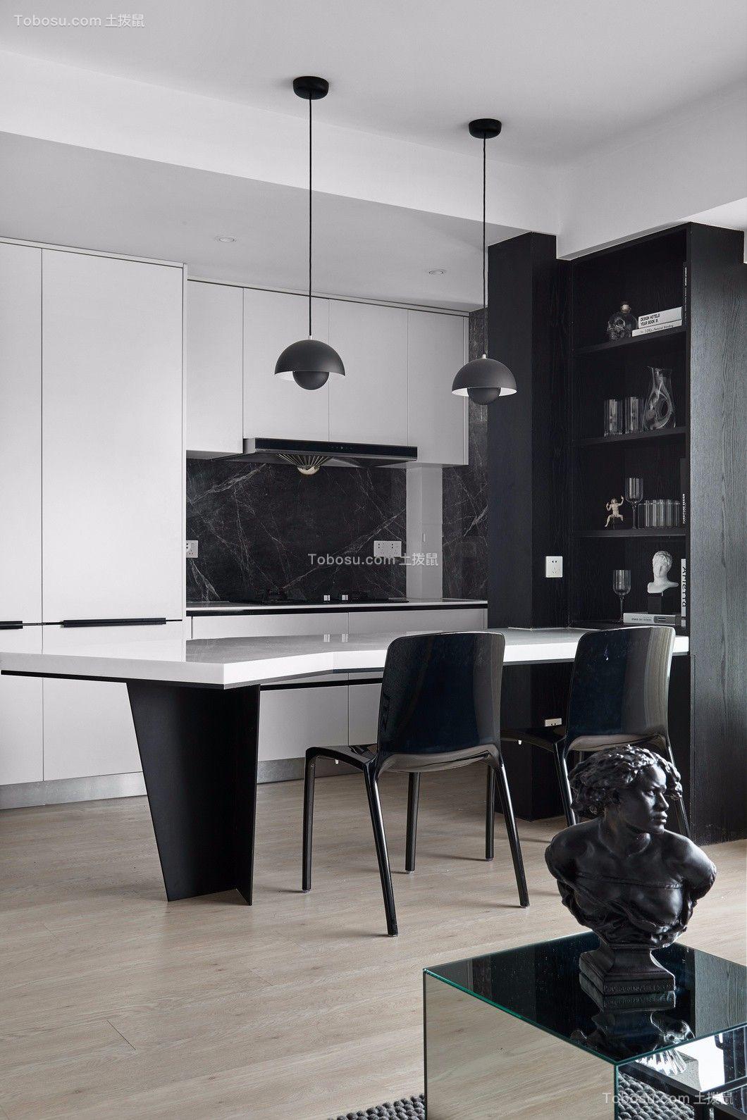 70平两房改造现代风格图片