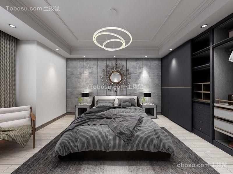 圣芭芭拉250m²简约风格五室两厅装修效果图