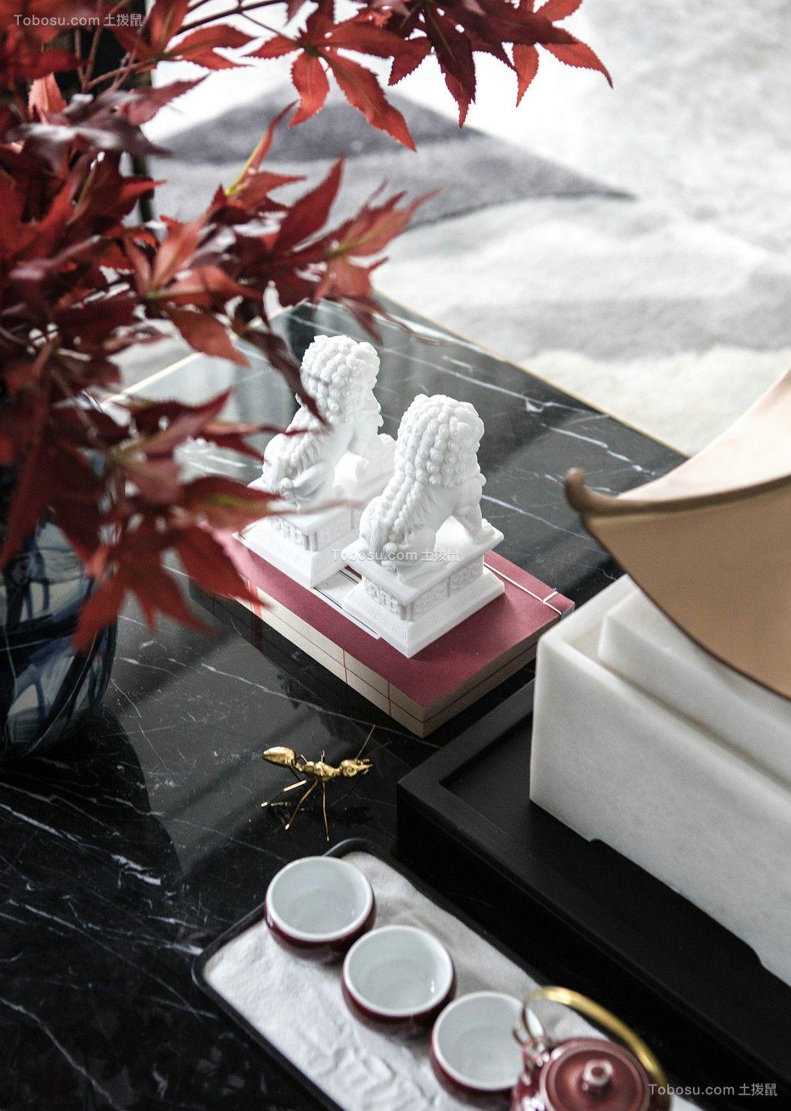 2019现代简约客厅装修设计 2019现代简约茶几效果图